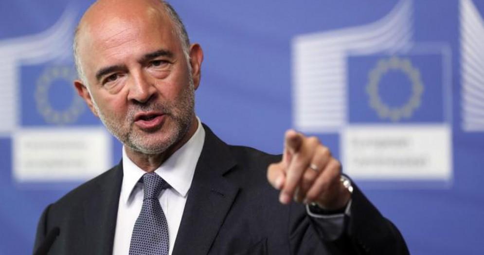 Il commissario agli Affari economici, il francese Pierre Moscovici