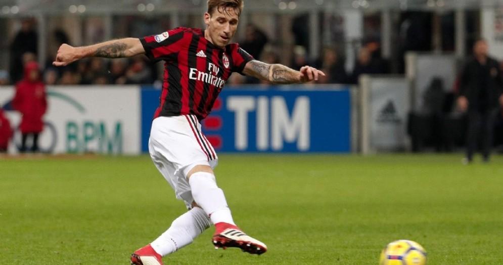 Lucas Biglia, 33 anni, centrocampista argentino del Milan