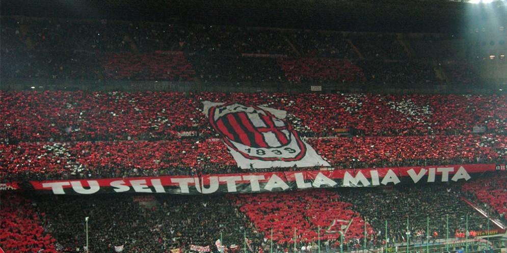 La curva del Milan è pronta a sostenere i rossoneri anche nella prossima stagione