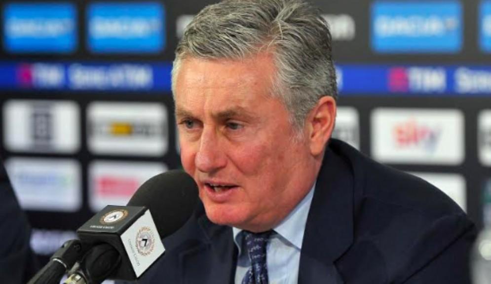 Daniele Pradè non è più il responsabile dell'area tecnica di Udinese calcio