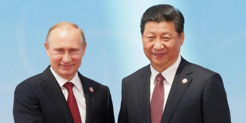 Xi Jinping e Vladimir Putin