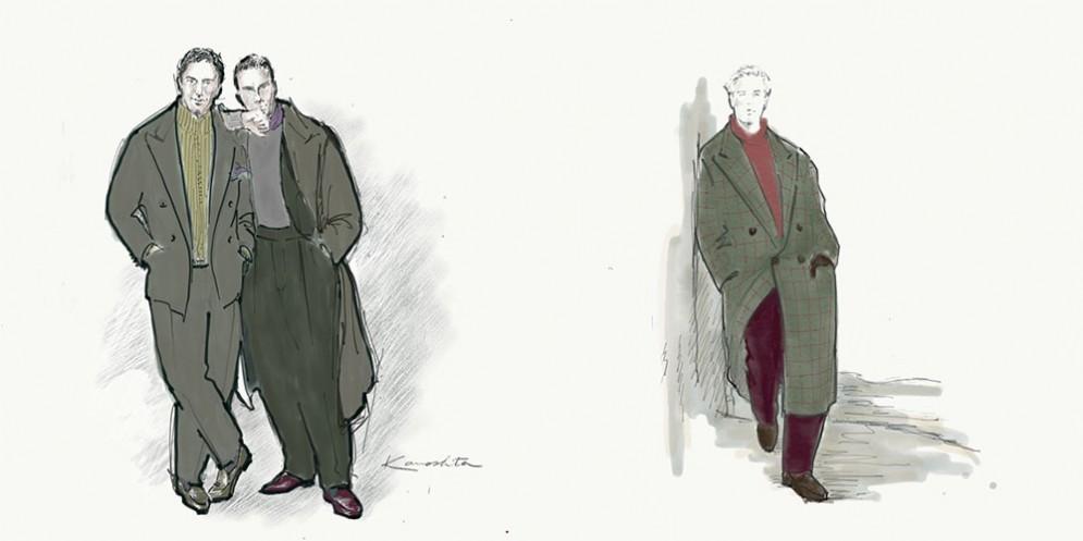 Vitale Barberis Canonico e Yasuto Camoshita presentano Between a Milano Moda Uomo