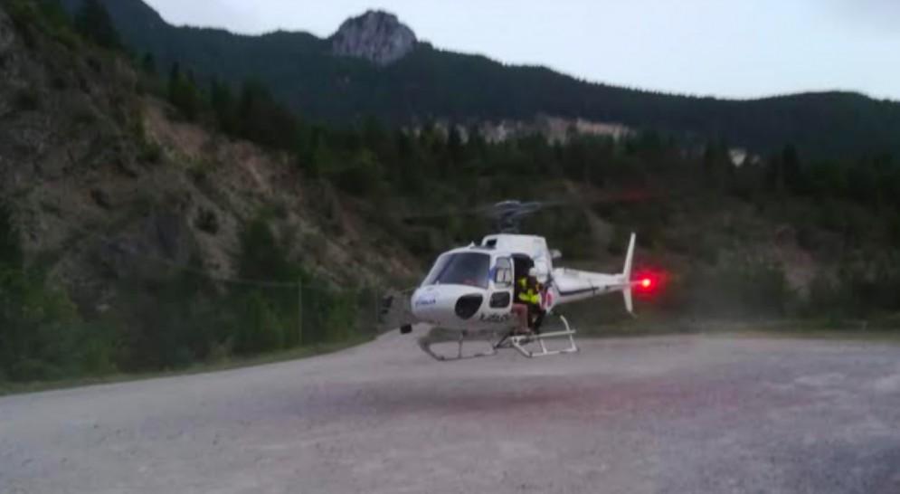 Due escursionisti incrodati sopra Casso: intervento del Cnsas