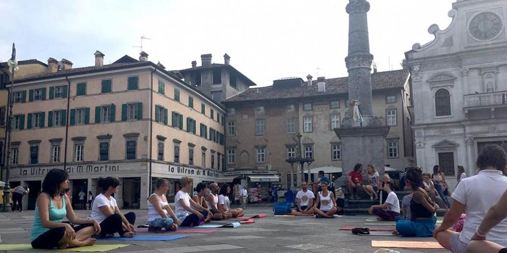 Torna a Udine la Giornata Internazionale dello Yoga!