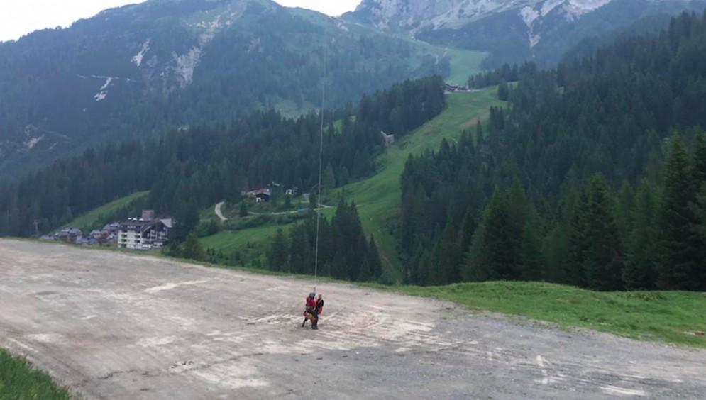 Intervento congiunto italo-austriaco: salvi quattro escursionisti