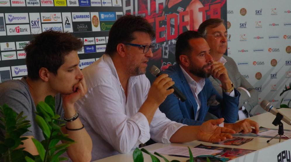 La Gsa presenta la campagna abbonamenti davanti a oltre 100 tifosi
