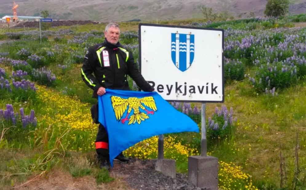 I Cavalieri in Vespa conquistano la terza stella in Islanda