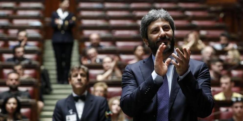 Il Presidente della Camera, Roberto Fico