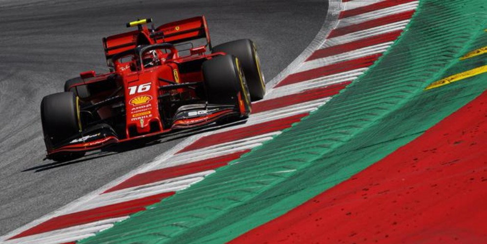 La Ferrari di Charles Leclerc