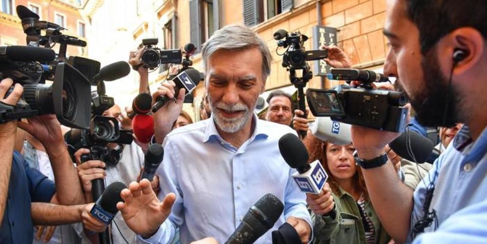 L'ex Ministro dei Trasporti, Graziano Delrio