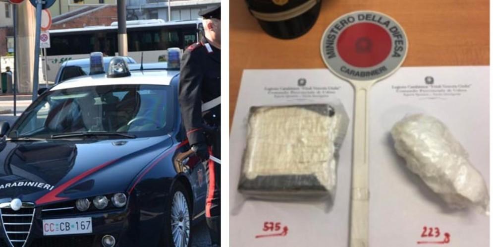 Arrestato spacciatore albanese: nella sua casa trovati 800 grammi di cocaina