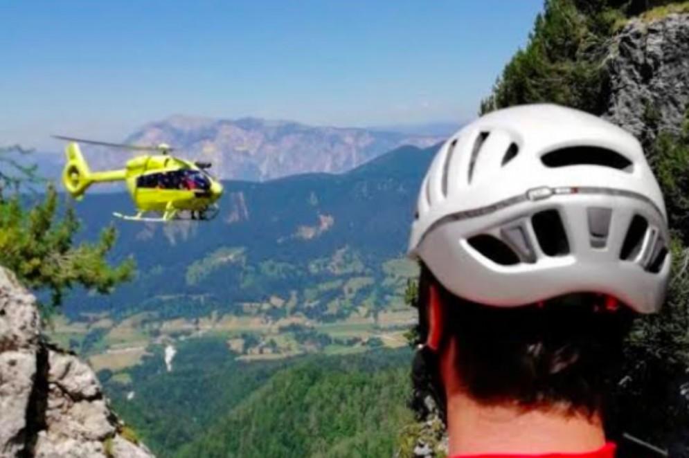 Escursionista austriaco recuperato nel gruppo delle Ponze
