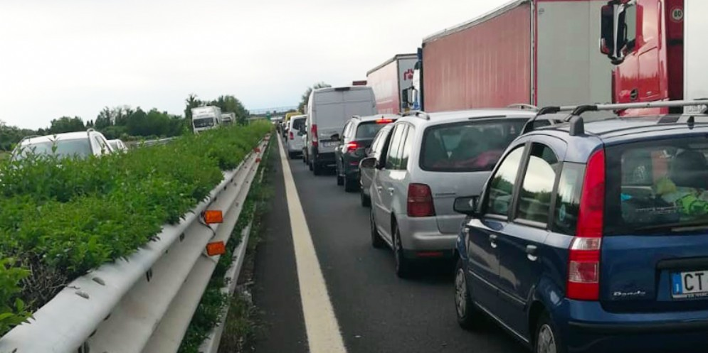 Doppio incidente in A4: lunghe code in direzione Venezia