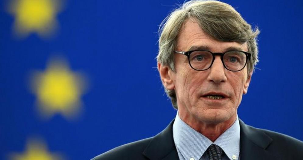 Il neopresidente PD del Parlamento Europeo, David Sassoli