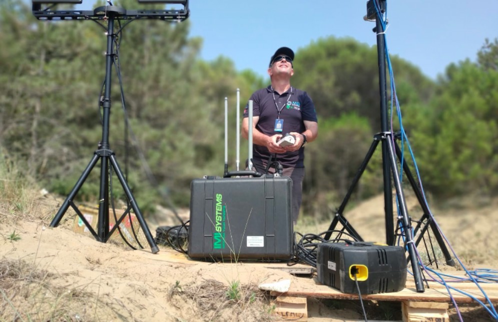 Tecnologia anti-drone: esame ampiamente superato al Jova Beach Party