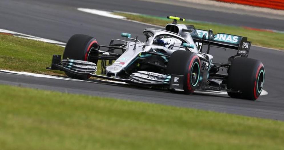 Valtteri Bottas in pole a Silverstone