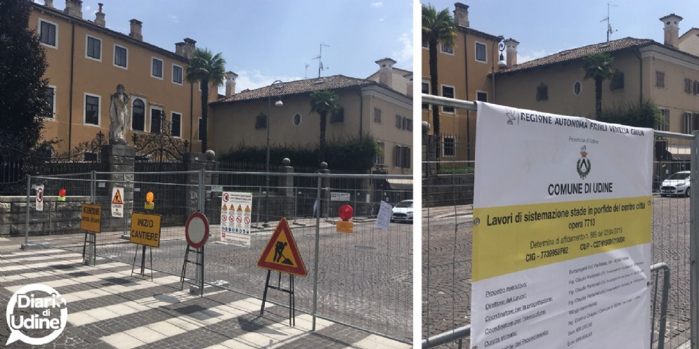 Via Aquileia e via Mercatovecchio: finanziamenti ad hoc per ridurre i disagi del cantiere