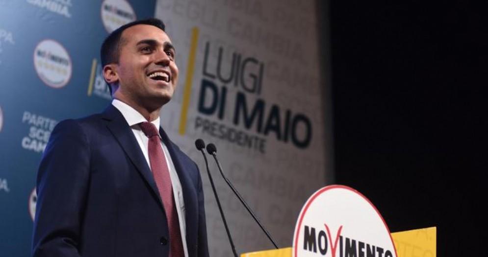 Il leader dei 5 Stelle, Luigi Di Maio