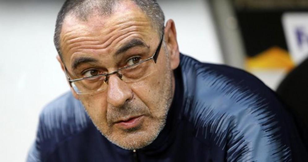 Il tecnico della Juventus, Maurizio Sarri