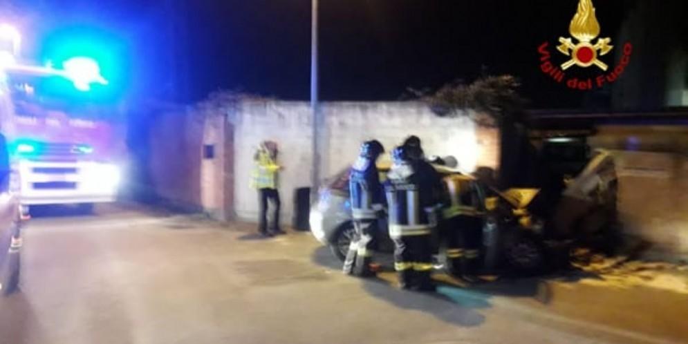 Foto d'archivio di un incidente