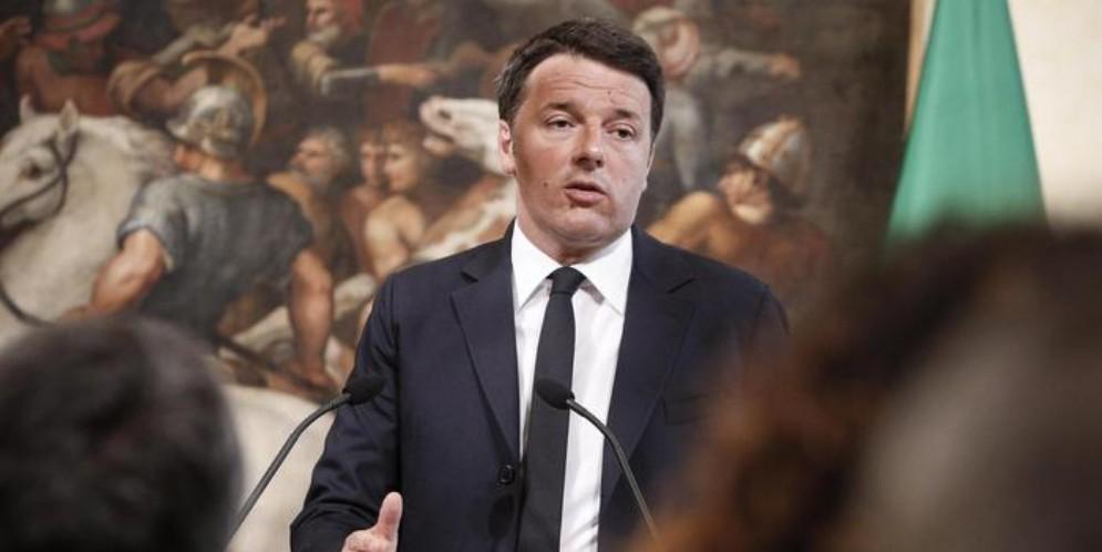 L'ex Segretario del PD, Matteo Renzi