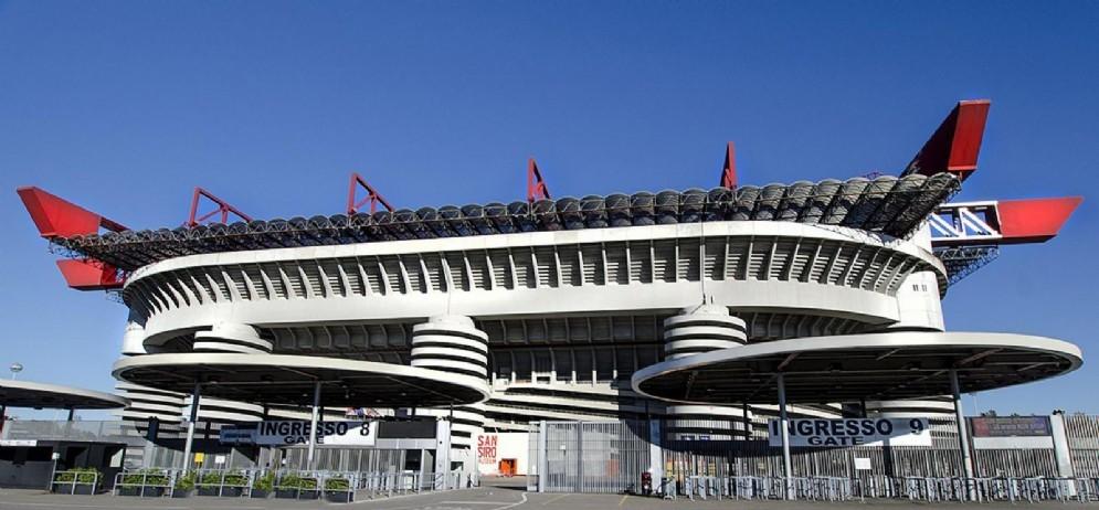 Lo stadio di San Siro ospita le gare casalinghe di Inter e Milan