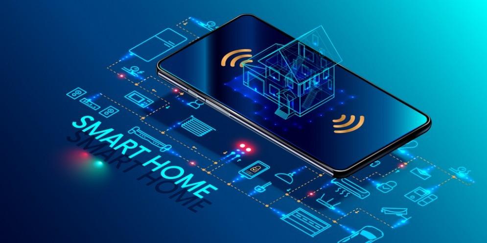 Casa smart, integrata con la tecnologia domotica