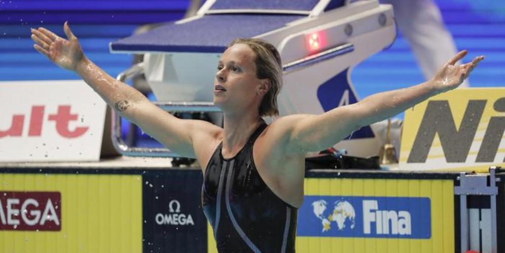 Federica Pellegrini, 4° oro ai mondiali di nuoto