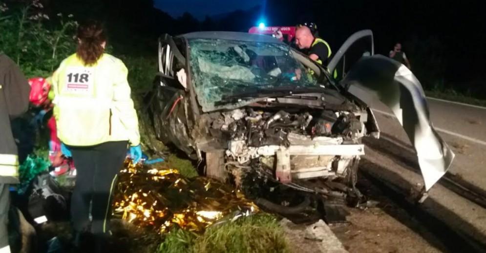 Incidente mortale a Majano: sul poto l'elisoccorso