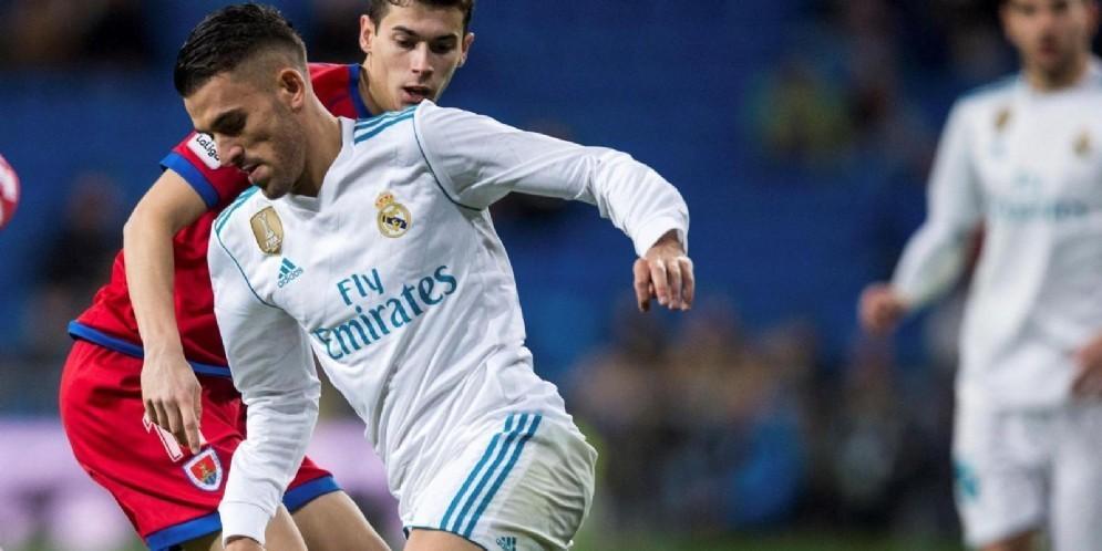 Dani Ceballos, talento del Real Madrid passato in prestito all'Arsenal