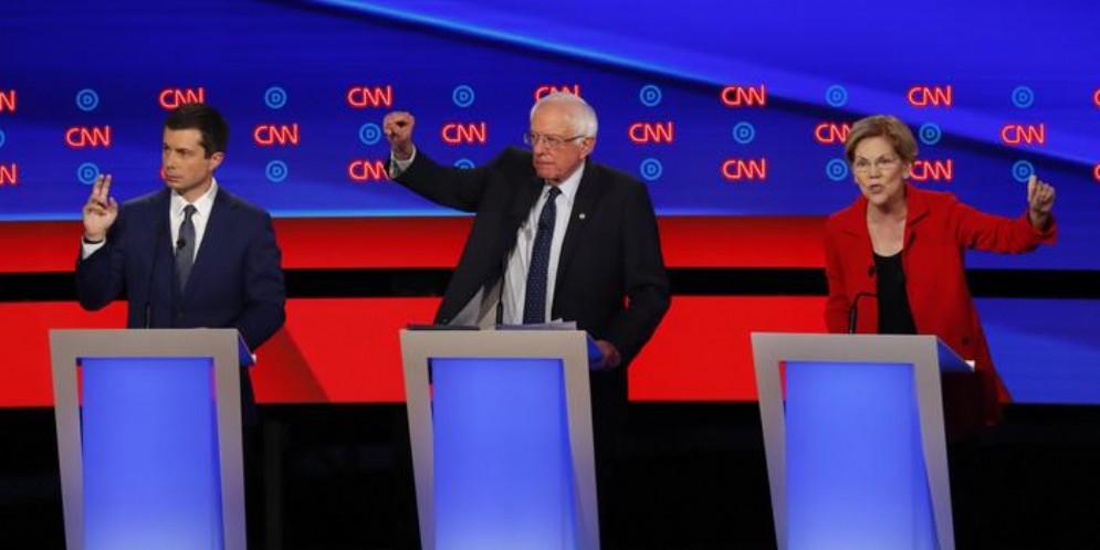 Usa 2020, Sanders e Warren si impongono al dibattito Dem. Scontro progressisti-moderati