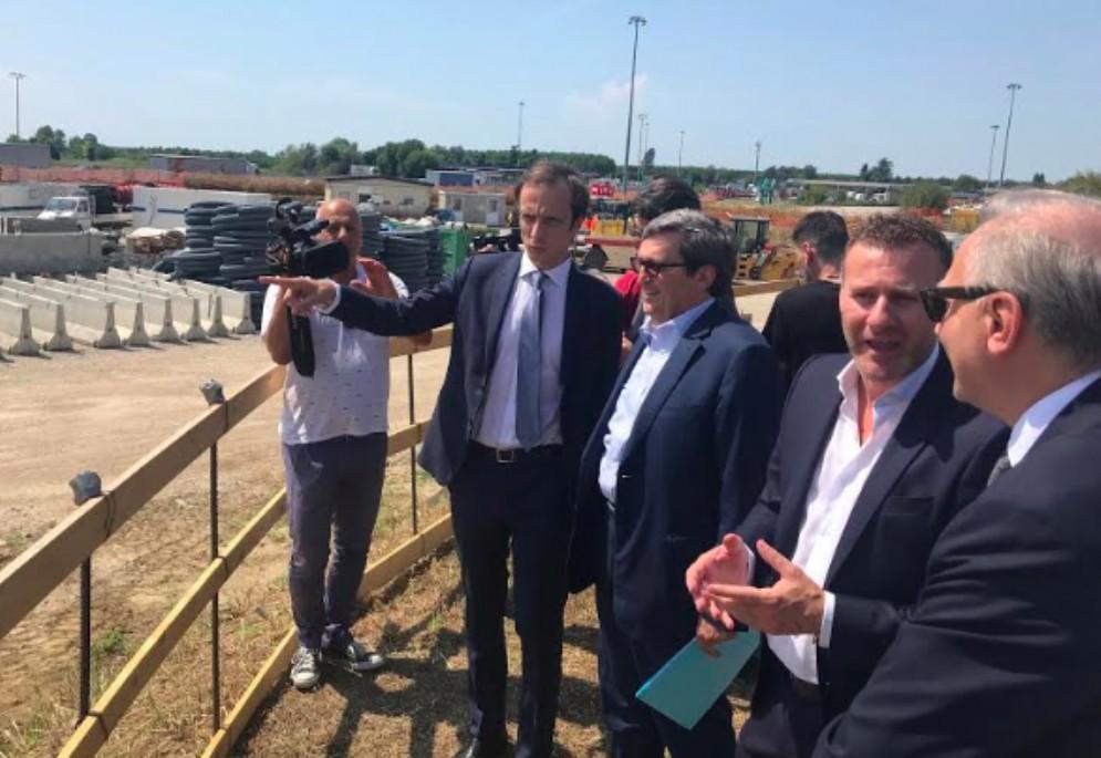 Terza corsia, Fedriga: «Il terzo lotto della A4 sarà pronto con un anno di anticipo»