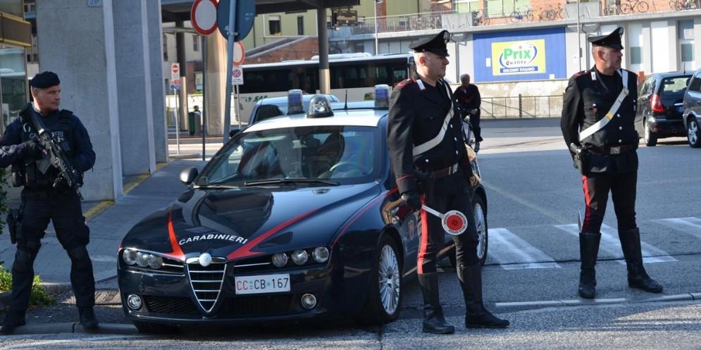 Posto di blocco di Carabinieri