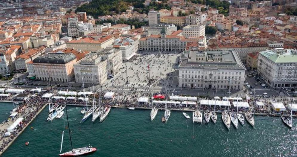 Veduta aerea di Trieste