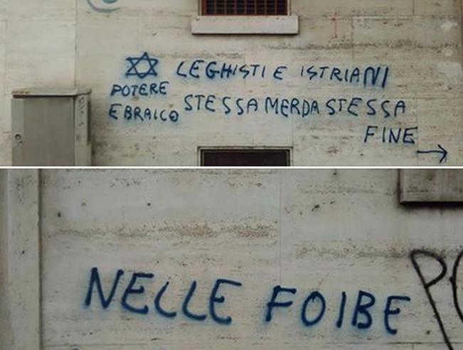 Le scritte in Borgo San Paolo a Torino