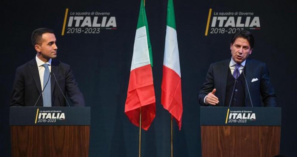 Luigi Di Maio con il Premier, Giuseppe Conte