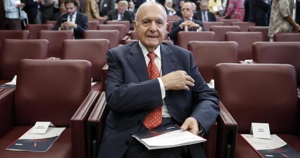 Il Presidente della Consob, Paolo Savona