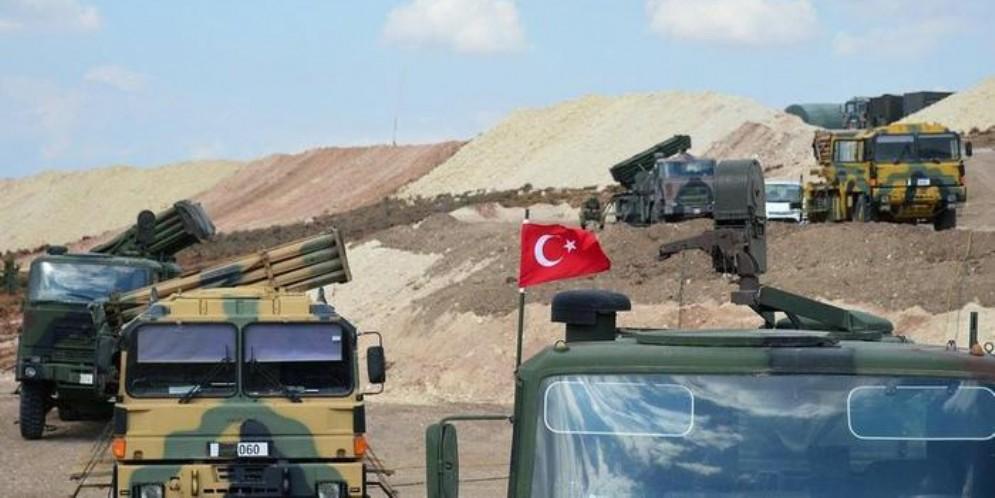Mezzi militari turchi in Siria