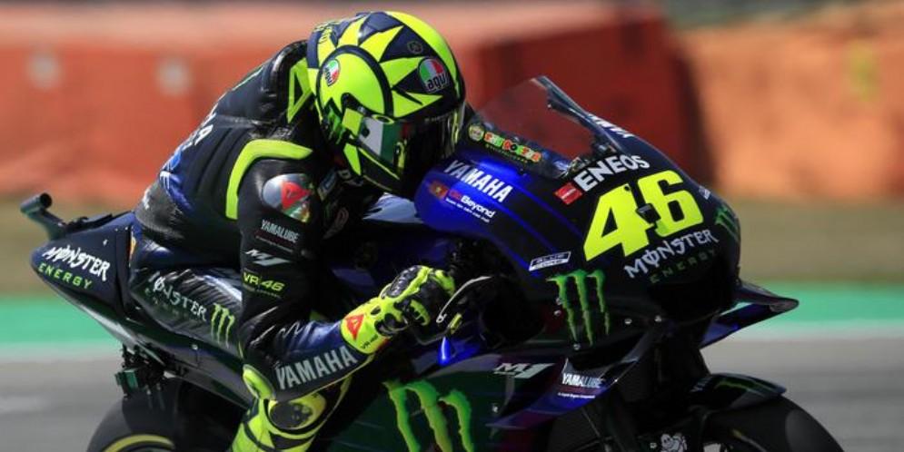 Valentino Rossi su Yamaha