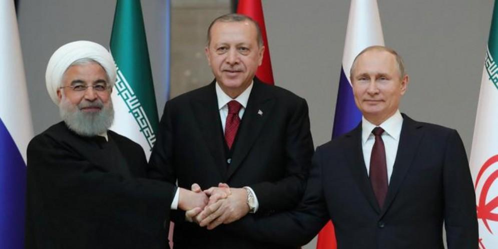 Siria: il 16 settembre vertice Turchia, Russia e Iran ad Ankara