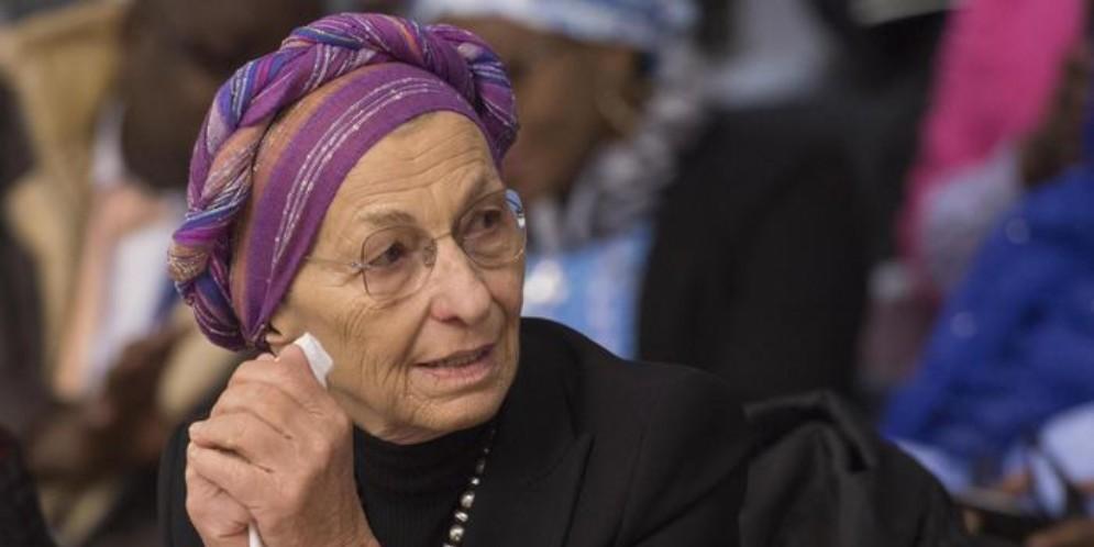 Il leader di +Europa, Emma Bonino