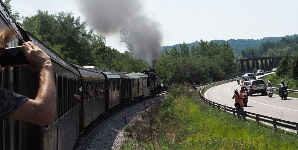 Torna il 'Treno del Confine' con carrozze anni '30