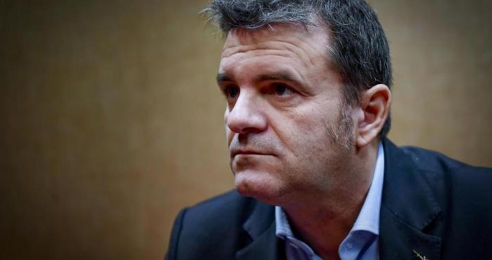 Il Ministro leghista dell'Agricoltura, Marco Centinaio