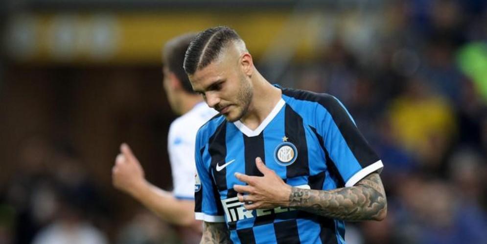 Mauro Icardi con la maglia dell'Inter