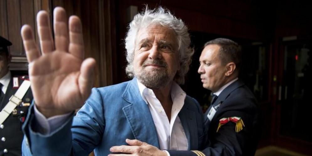 Il fondatore del MoVimento 5 Stelle, Beppe Grillo