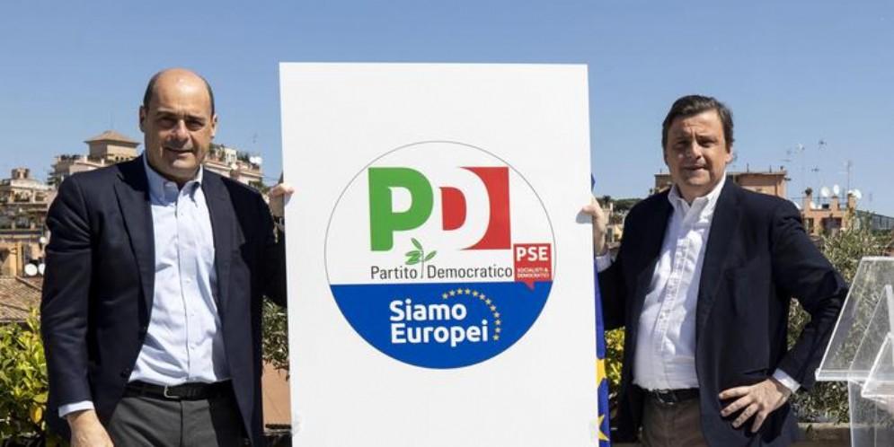Nicola Zingaretti e Carlo Calenda