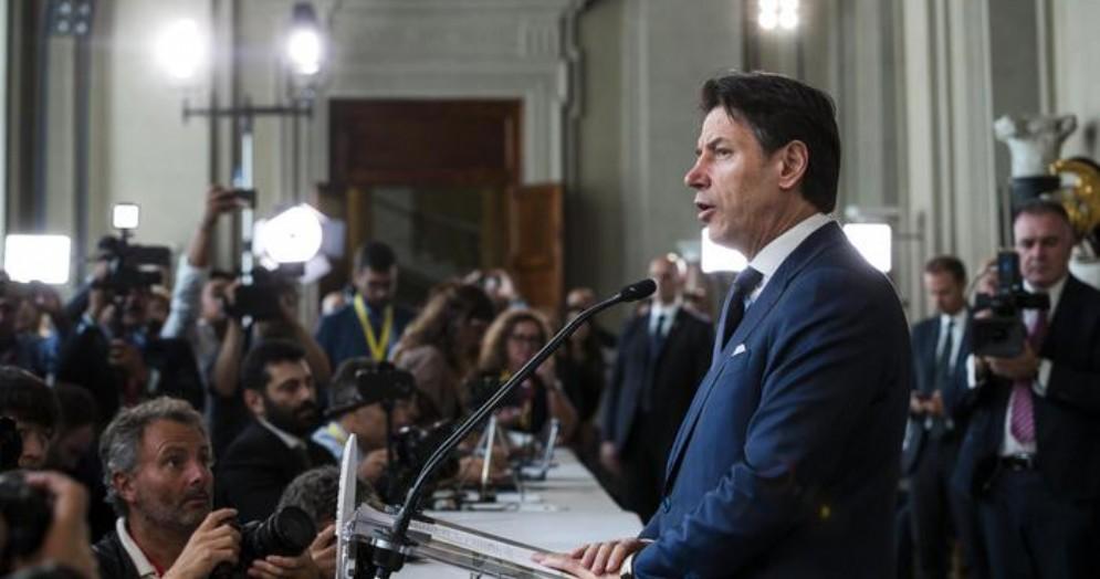 Il Presidente del Consiglio incaricato, Giuseppe Conte