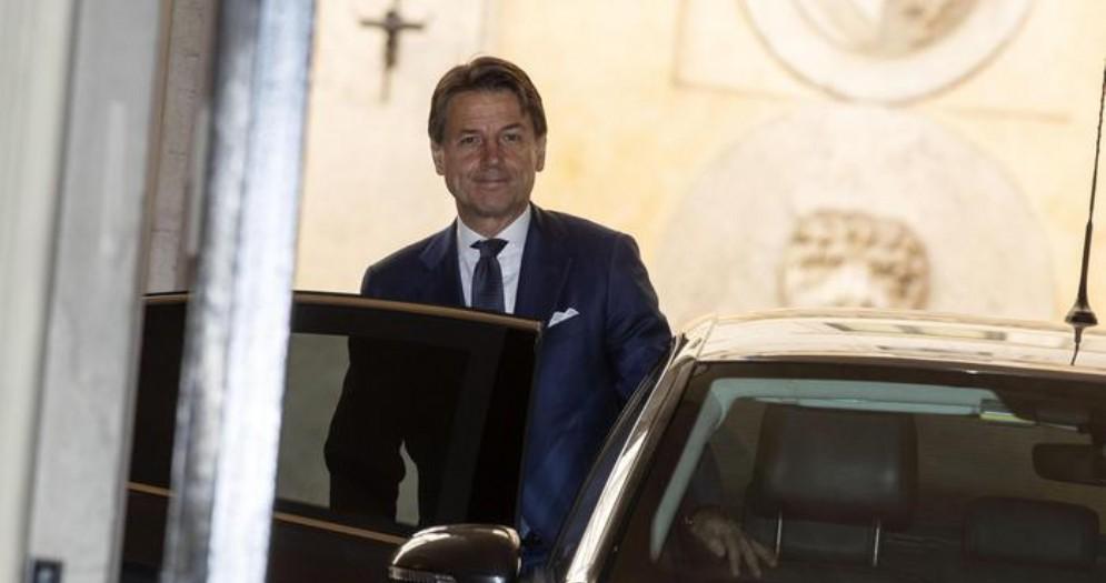Il Presidente incaricato, Giuseppe Conte
