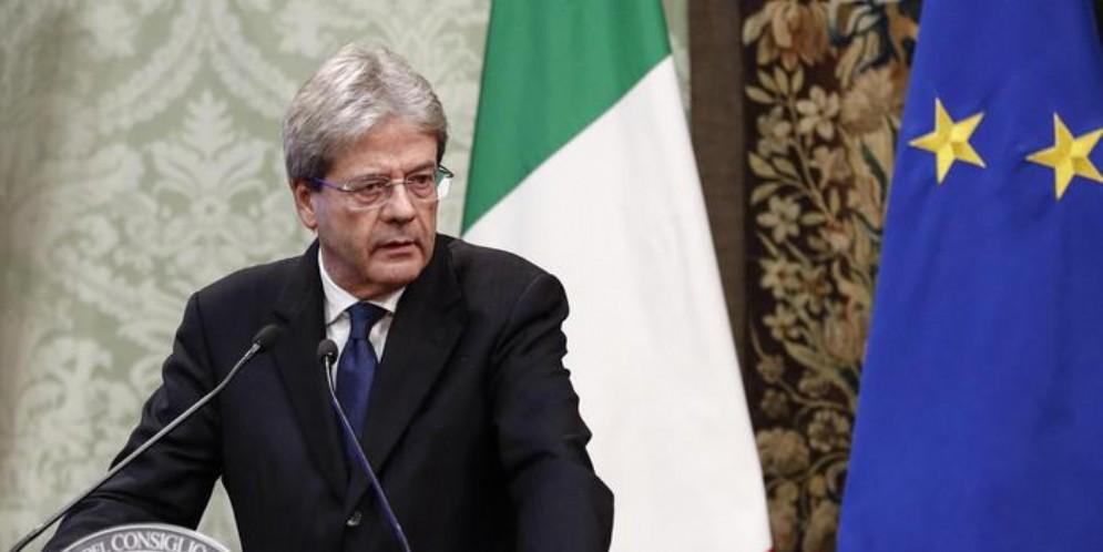 Il Presidente del PD, Paolo Gentiloni