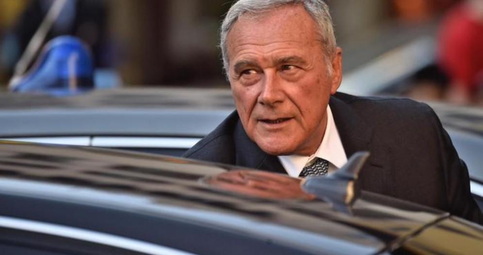 Il Senatore di LeU, Pietro Grasso